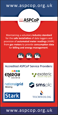 Automated Meter Reading Service Providers Code of Practice exhibition display banner