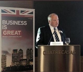 Chris Howie, Life Sciences speaker - Business is Great