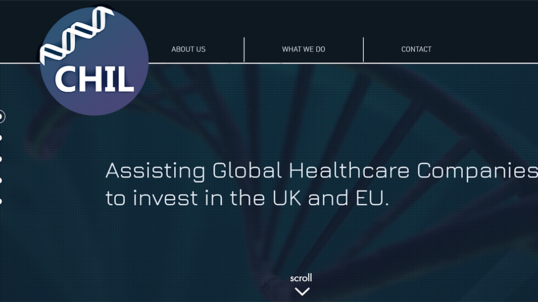 CHIL life sciences website