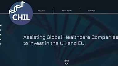 CHIL life sciences website