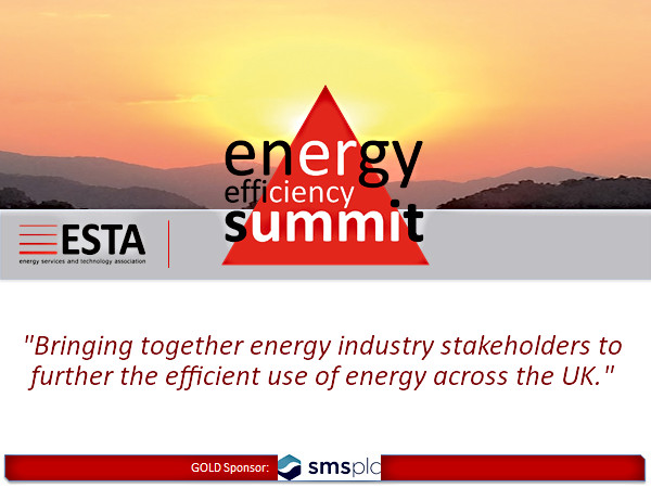 ESTA Energy Efficiency Summit presentation cover