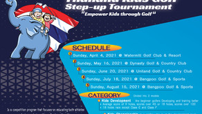 Thailand Kids Golf Step-up tournament