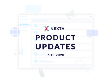 Nexta.io Product Updates - 7.10.2020