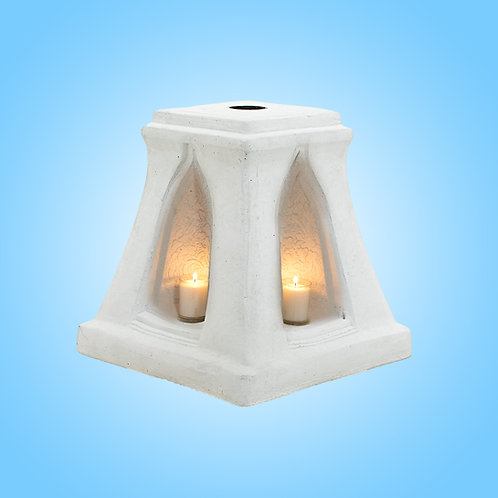 Candle Base parasol White