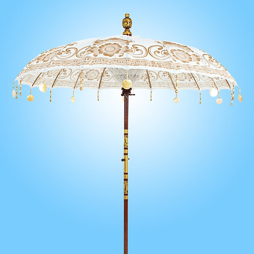 WHITE PEARL - Bali Parasol original
