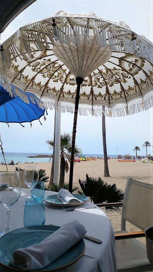 gold serenity traditional wedding parasol balinese