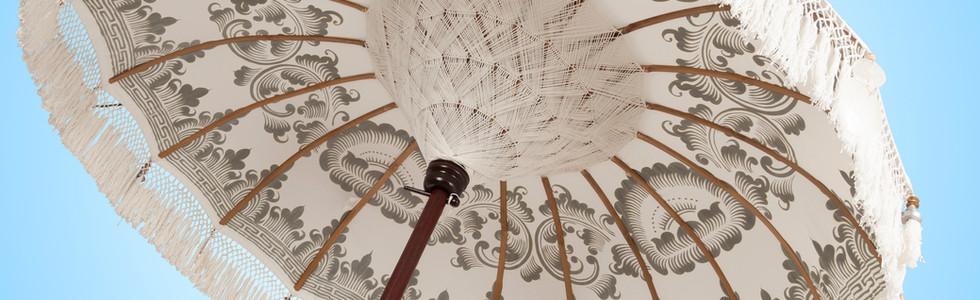 Realizadas y pintadas a mano de manera artesanal con diseno unicos Bali Parasol