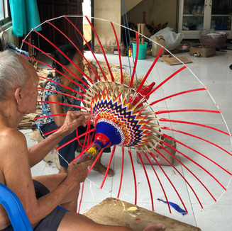 The Art of Umbrella Making