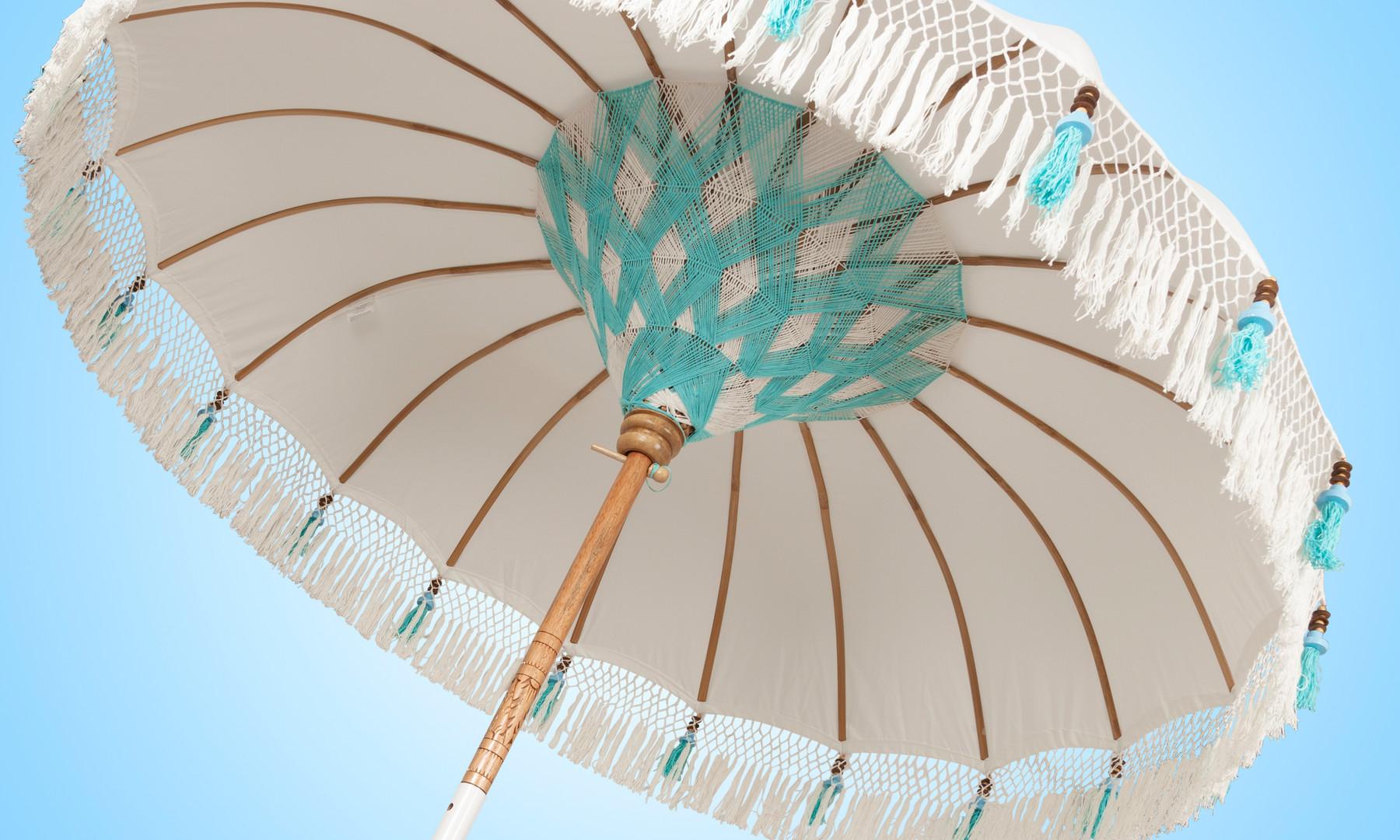 Bali Parasol Beach Chic Turquoise