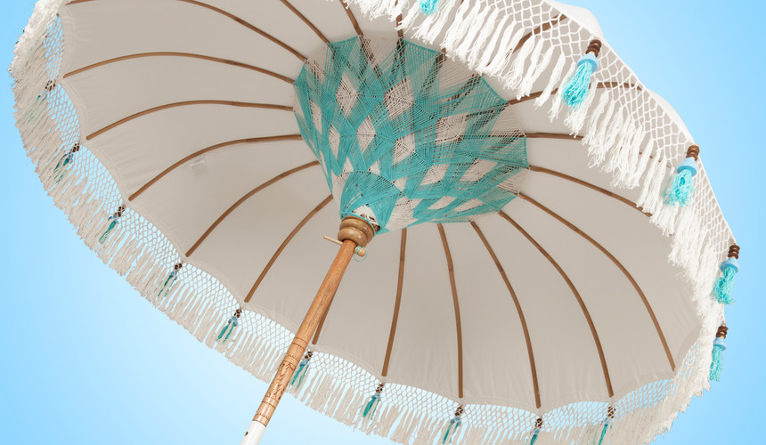 Bali Parasol Beach Chic Turquoise