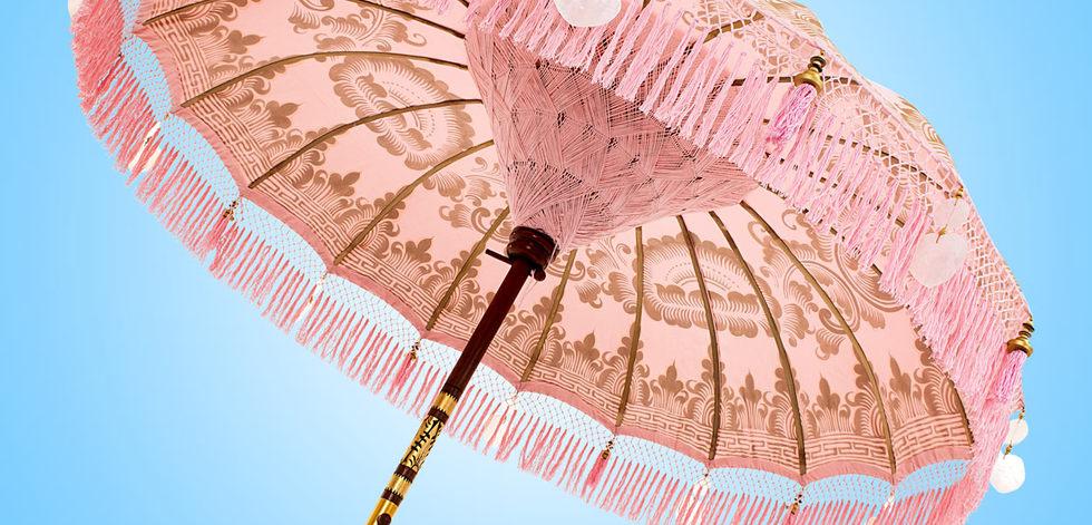 Rose Serenity Bali Parasol original