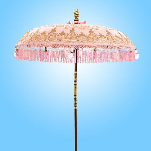 Rose Serenity Bali Parasol original Balinese umbrella