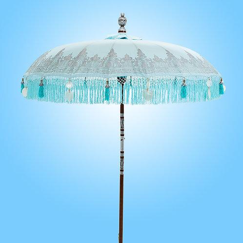 BLUE NIRVANA - Silver Bali Parasol original