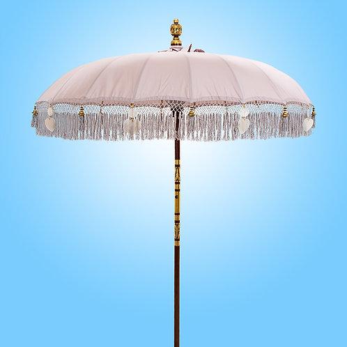 Sand Fringed balinese parasol