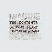 thrown at a wall