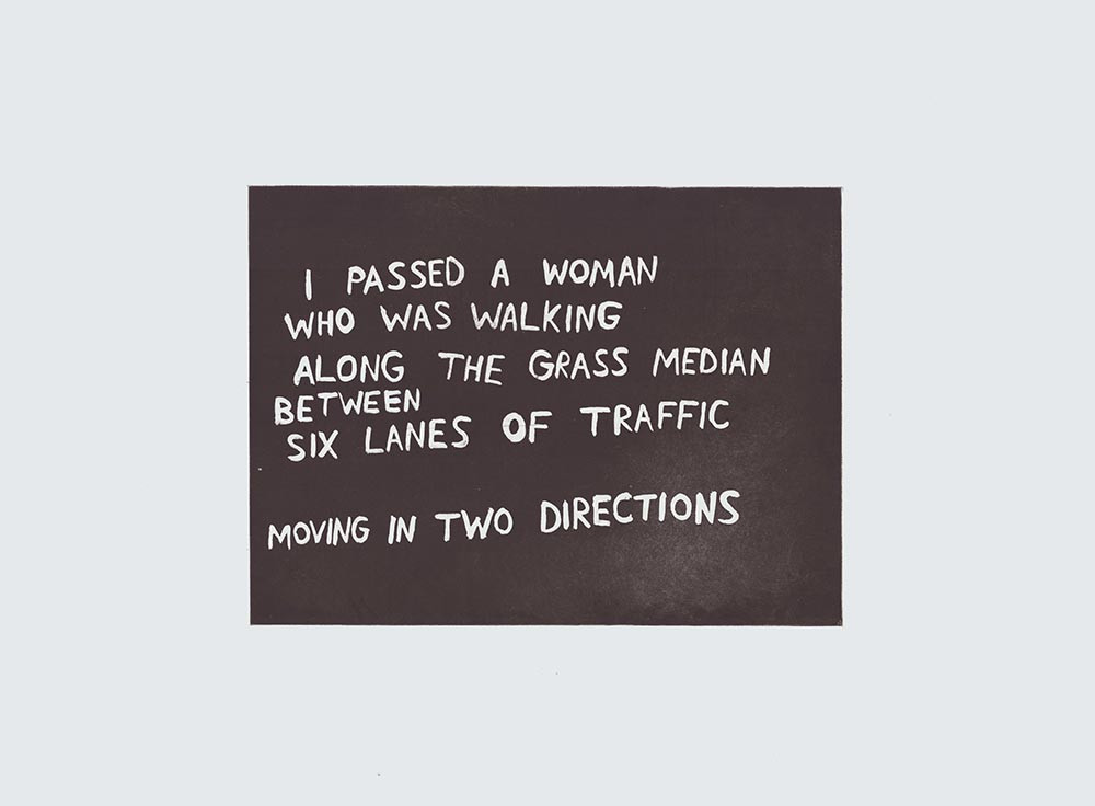 moving in two directions
