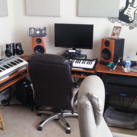 My Last Home Studio Setup