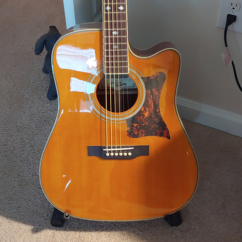 My Epiphone Master Built