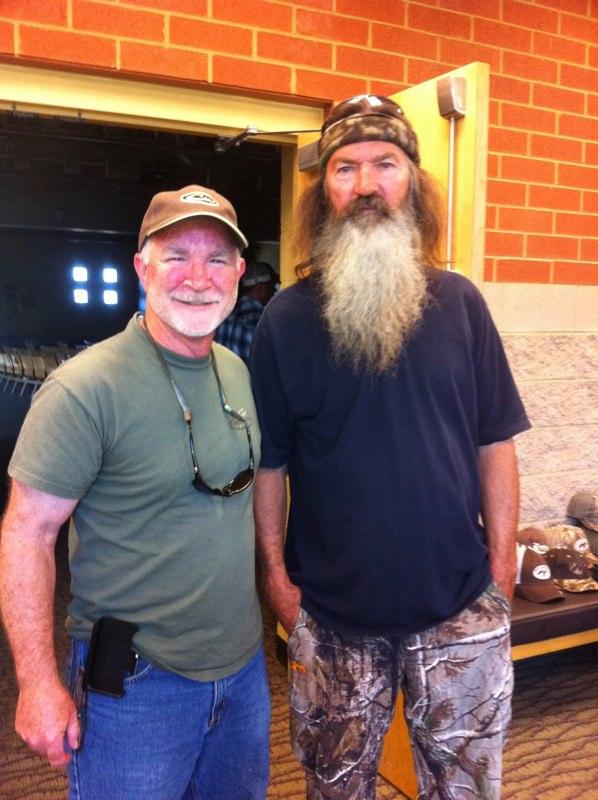 Tony with Phil Robertson