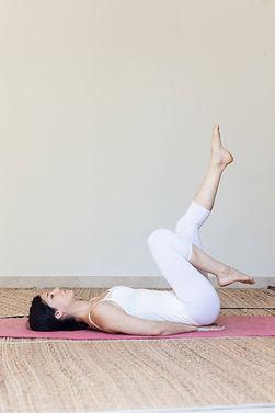 Série d'exercices de Yoga hormonal
