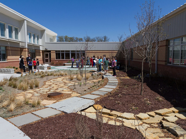 Kenton County KDOW Caywood Courtyard