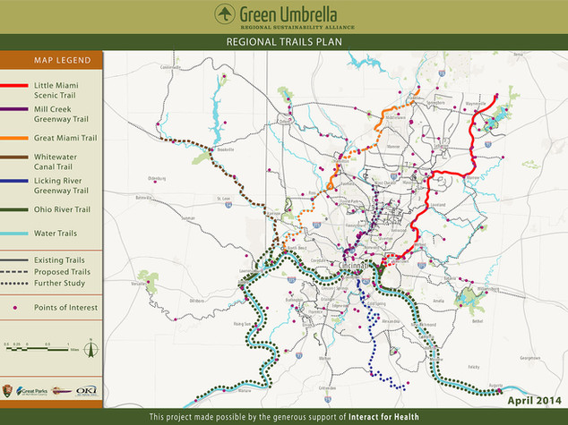 Green Umbrella Regional Trails Plan