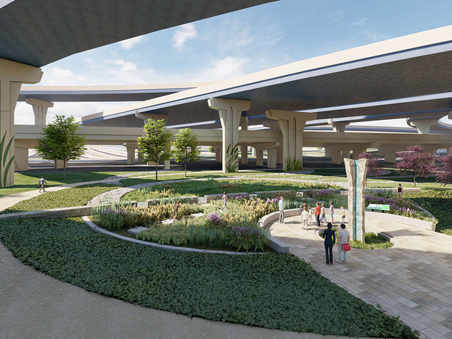 Milwaukee Overpass Green Infrastructure