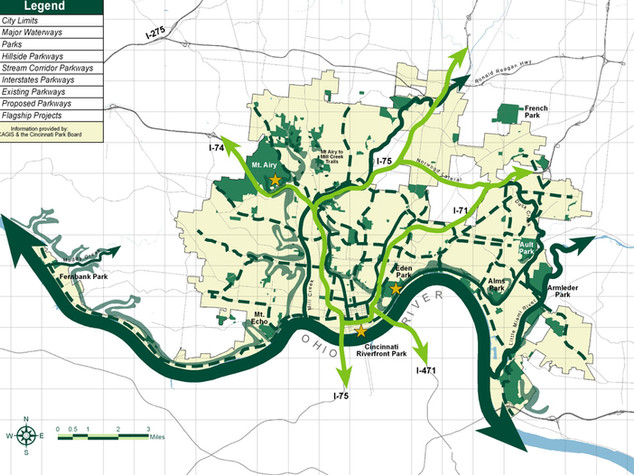 Cincinnati Park System Centennial Master Plan