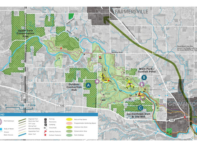 Five Rivers Metro Parks Master Planning