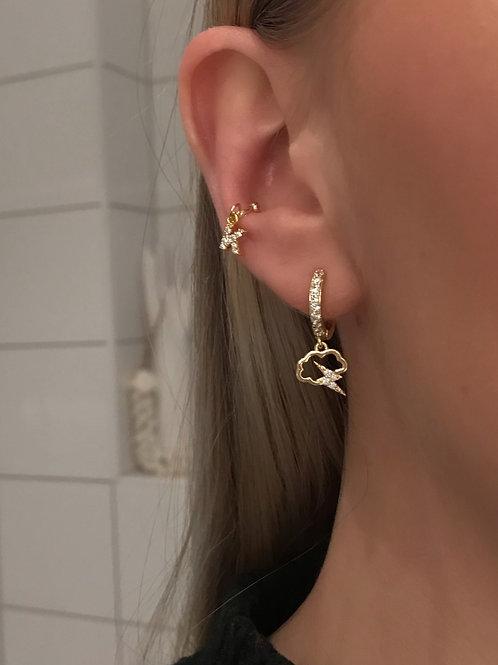 VENEZIA EAR CUFF INITIAL