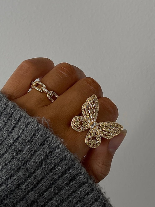 OBSESSED RING LIME