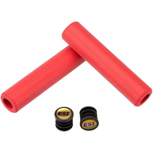 ESI GRIPS - Grips CHUNKY en silicone rouge