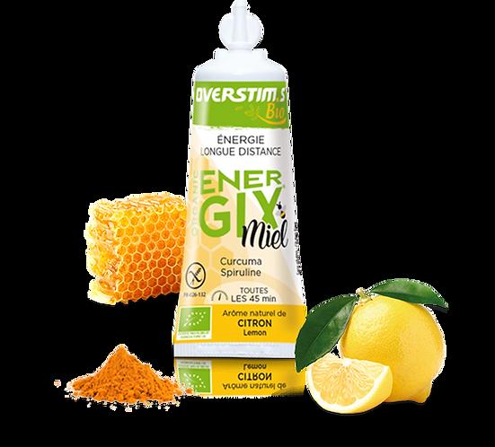 Energix Bio OVERSTIMS gel - Miel - Citron