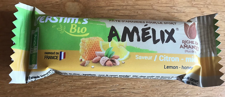 Amélix Bio Overstims barre Citron Miel
