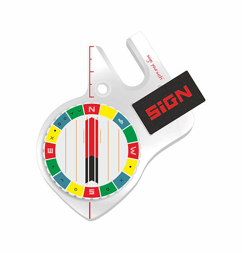 Boussole pouce droit Sign S4 pro design 3