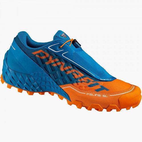 Chaussures Dynafit FELINE SL shocking orange/methyl blue Homme