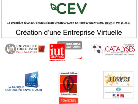 Edition 2021 du Challenge de création d'entreprise virtuelle