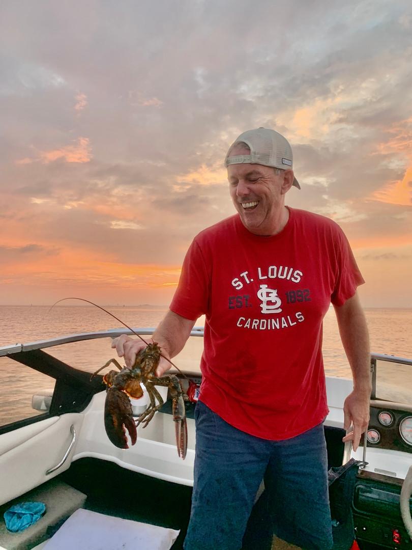 Bill lobster fishing
