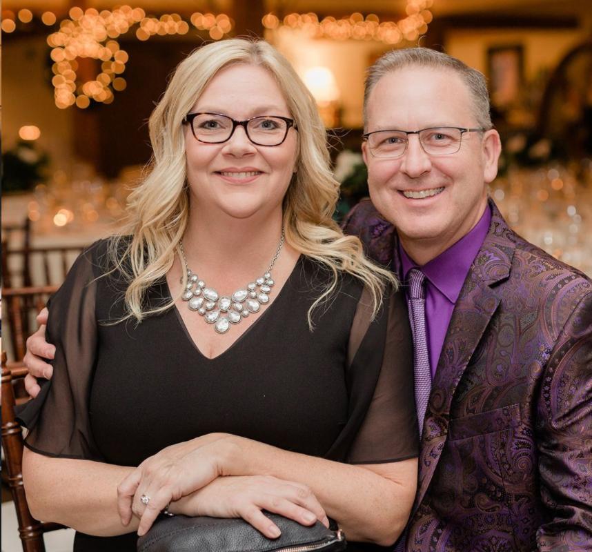Susan and her husband