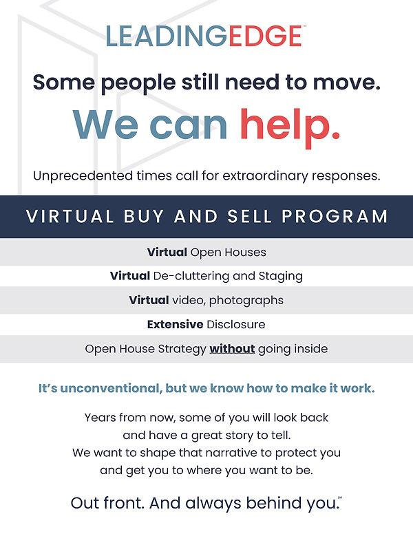 Leading Edge Virtual Buy and Sell program