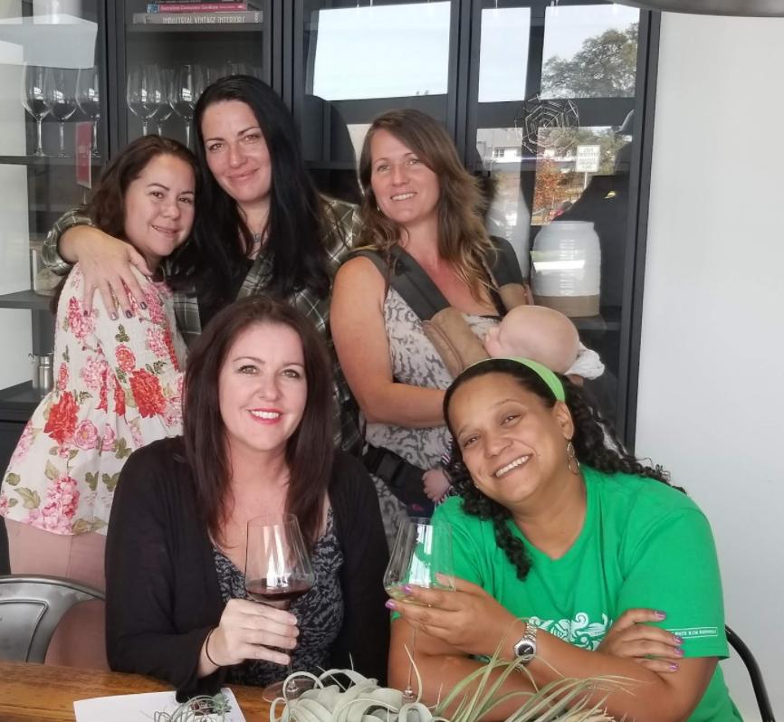 Tamara and friends