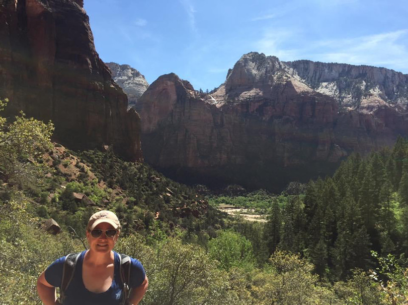Kerry hiking