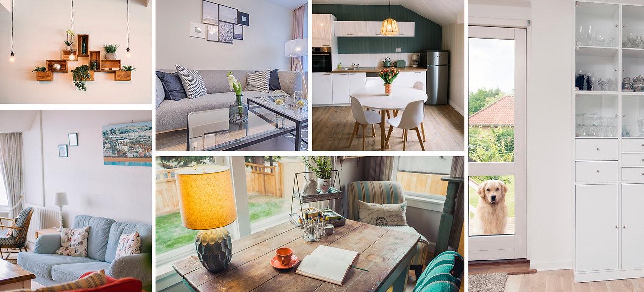 Interior Home Photo Collage