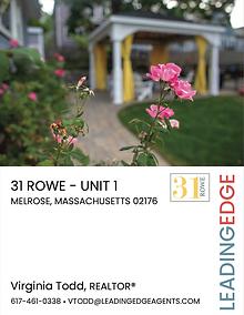 31 Rowe Brochure (front)