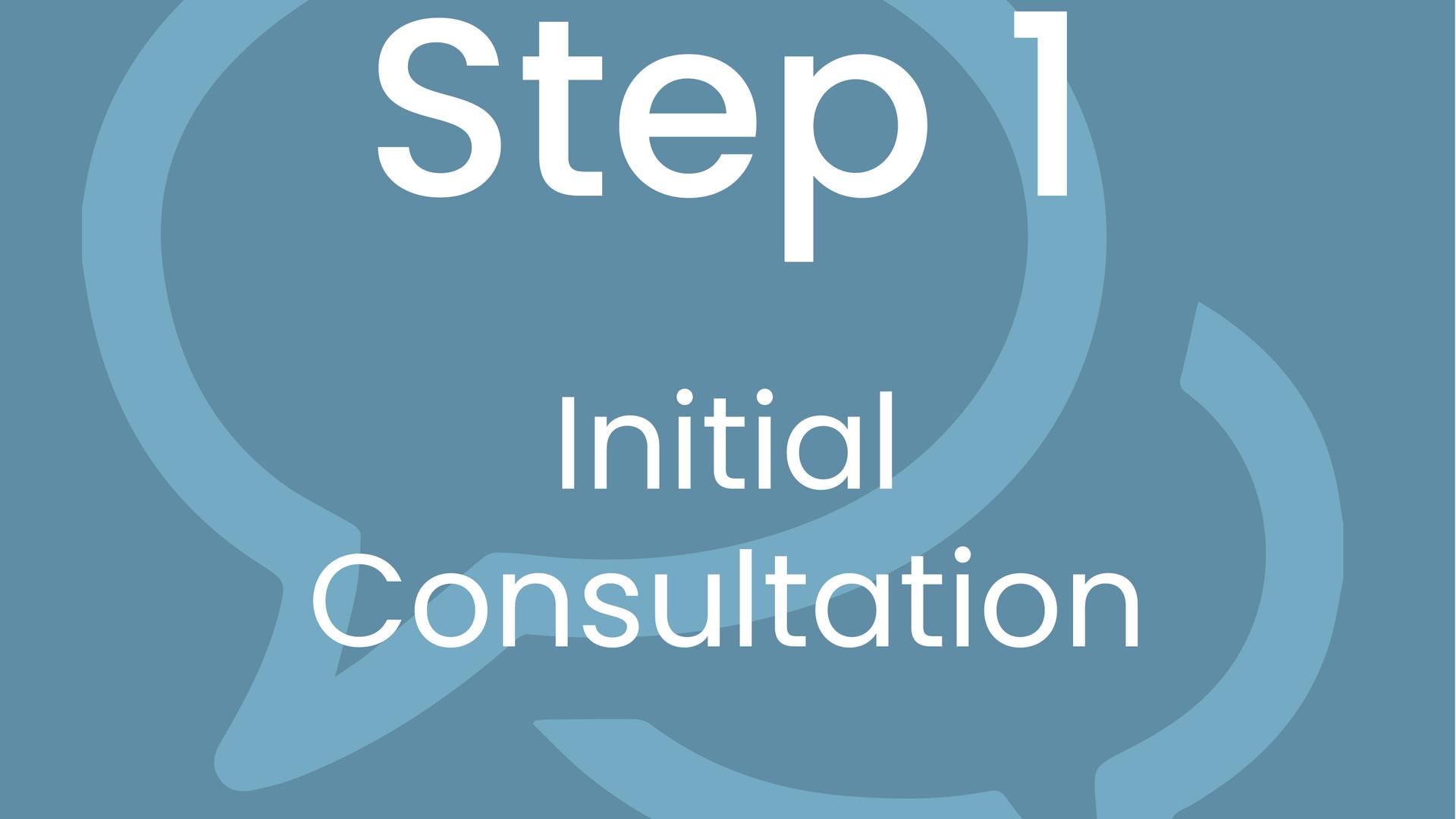 Step 1: Initial Consultation