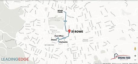 31 Rowe walk map