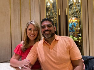 Rodrigo and his wife