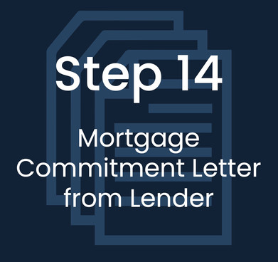 Step 14: Mortgage Commitment Letter from Lender