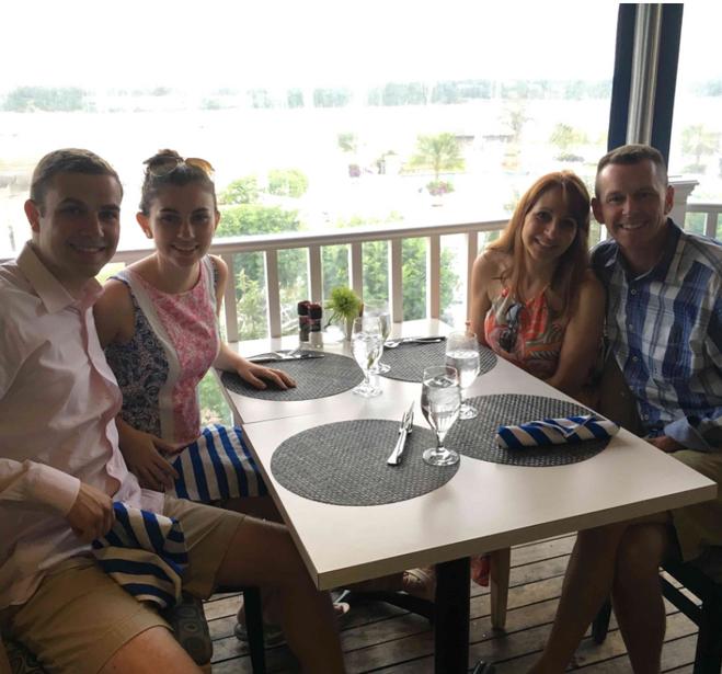 Lauren and her family