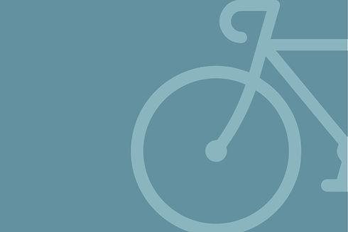 Faded Bike Silhoutte